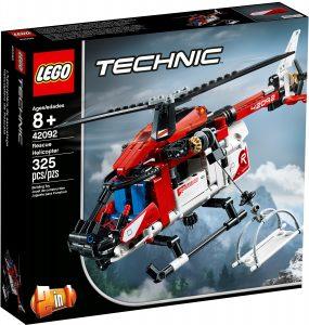 lego 42092 lhelicoptere de secours
