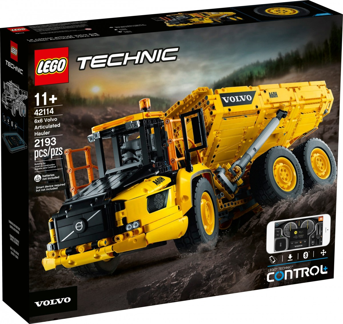 lego 42114 le tombereau articule volvo 6x6 scaled