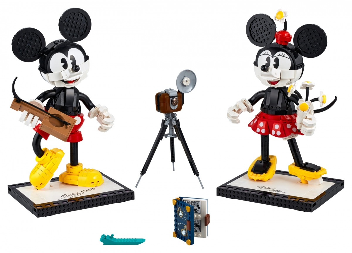lego 43179 personnages a construire mickey mouse et minnie mouse scaled