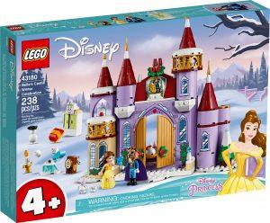 lego 43180 la fete dhiver dans le chateau de belle