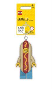 lego 5005705 porte cles lumineux homme hot dog