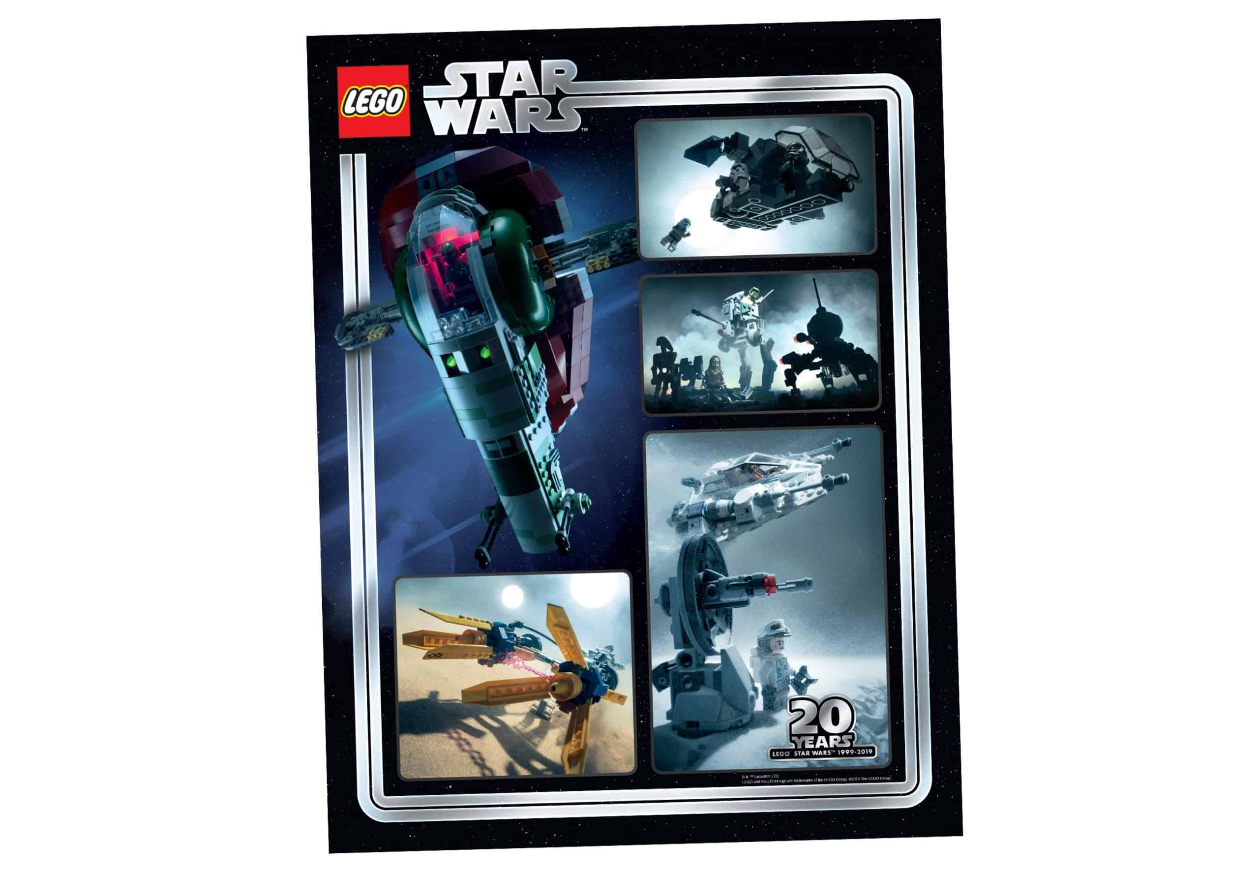lego 5005888 tirage dart du 20eme anniversaire star wars a collectionner scaled