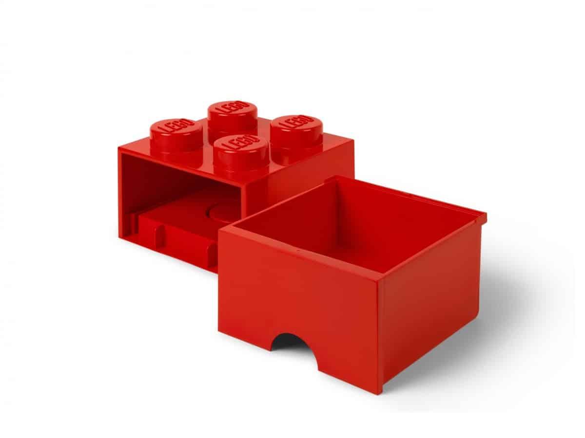 lego 5006129 brique rouge de rangement a tiroir 4 tenons scaled