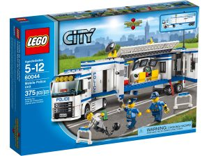 lego 60044 lunite de police mobile