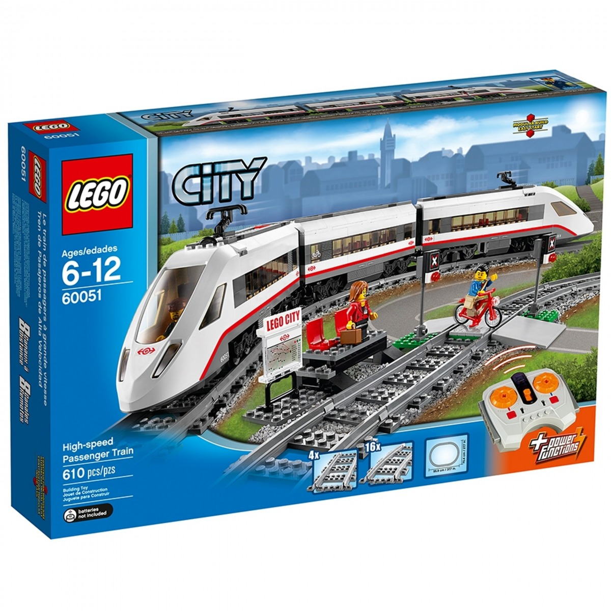 lego 60051 le train de passagers a grande vitesse scaled