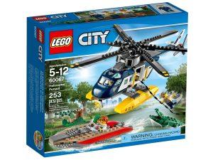 lego 60067 la poursuite en helicoptere