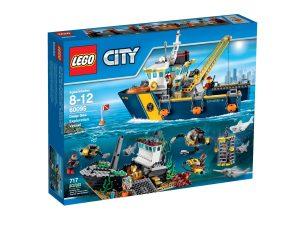 lego 60095 le bateau dexploration
