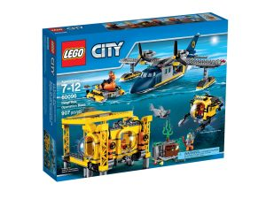 lego 60096 la base operationnelle en haute mer