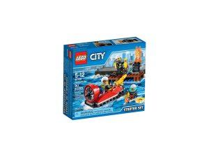 lego 60106 ensemble de demarrage pompiers