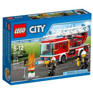 lego 60107 le camion de pompiers avec echelle