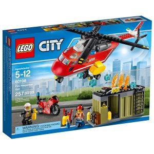 lego 60108 lunite de secours des pompiers