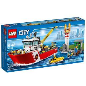 lego 60109 le bateau des pompiers