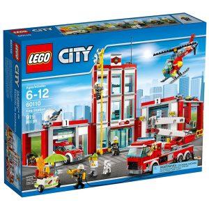 lego 60110 la caserne des pompiers