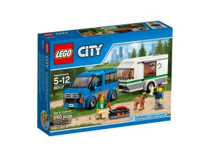 lego 60117 la camionnette et sa caravane