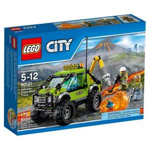 lego 60121 le camion dexploration du volcan