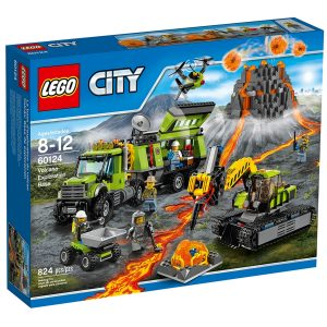 lego 60124 la base dexploration du volcan