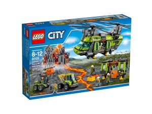 lego 60125 lhelicoptere de transport du volcan