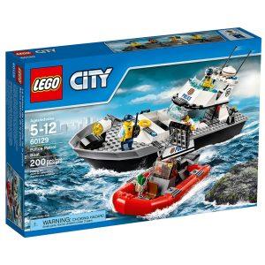 lego 60129 le bateau de patrouille de la police