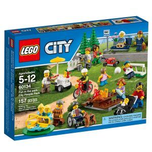 lego 60134 le parc de loisirs ensemble de figurines city