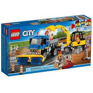 lego 60152 le deblayage du chantier