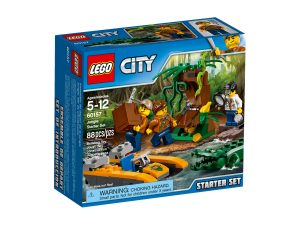 lego 60157 ensemble de demarrage de la jungle