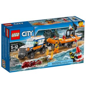 lego 60165 lunite dintervention en 4x4