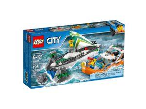lego 60168 le sauvetage du voilier