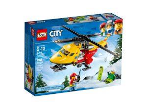 lego 60179 lhelicoptere ambulance
