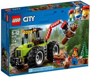 lego 60181 le tracteur forestier