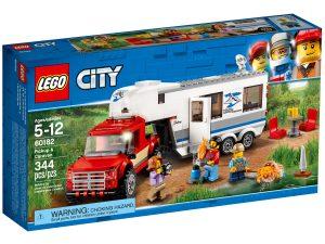 lego 60182 le pick up et sa caravane
