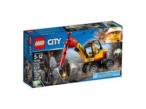 lego 60185 lexcavatrice avec marteau piqueur