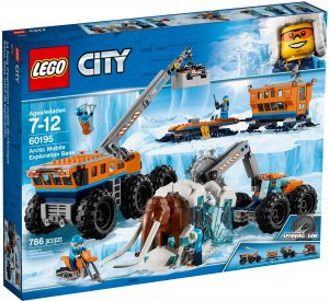 lego 60195 la base arctique dexploration mobile