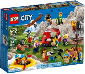 lego 60202 ensemble de figurines les aventures en plein air