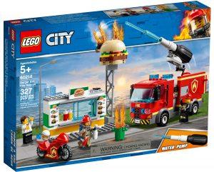 lego 60214 lintervention des pompiers au restaurant de hamburgers