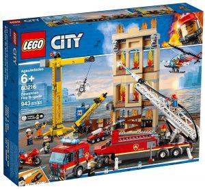lego 60216 les pompiers du centre ville
