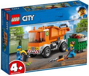 lego 60220 le camion de poubelle