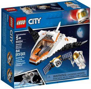 lego 60224 la mission dentretien du satellite