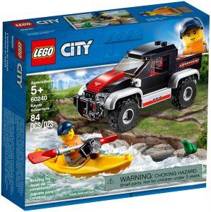 lego 60240 laventure en kayak