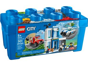 lego 60270 la boite de briques theme police
