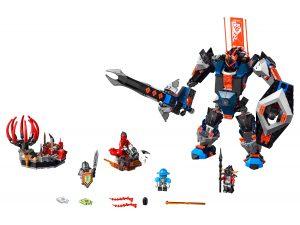 lego 70326 le robot du chevalier noir