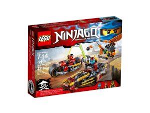 lego 70600 la poursuite en moto des ninja