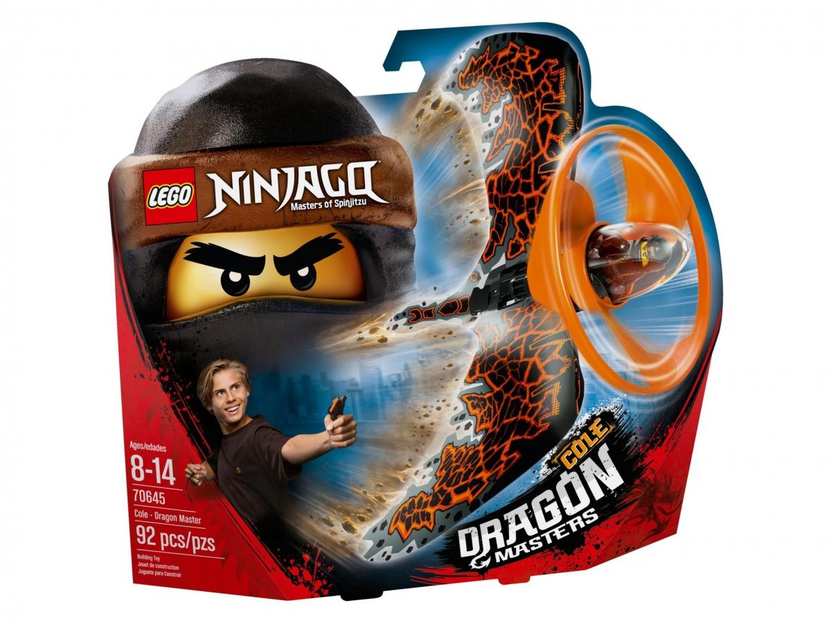 lego 70645 cole le maitre du dragon scaled