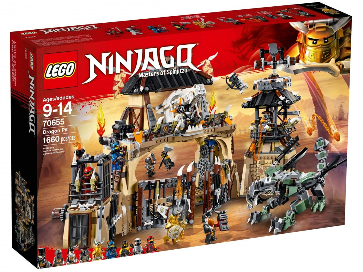 lego 70655 la taniere du dragon scaled