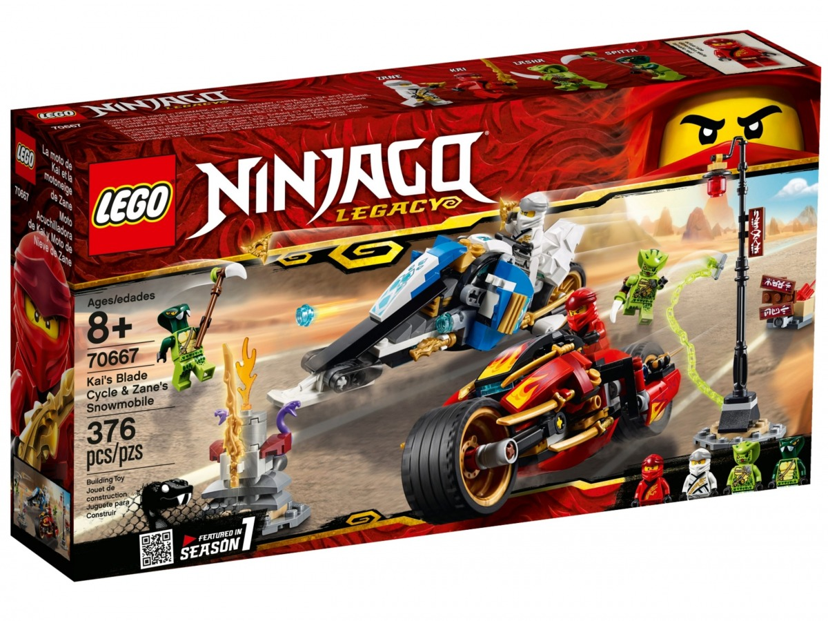 lego 70667 la moto de kai et le scooter des neiges de zane scaled