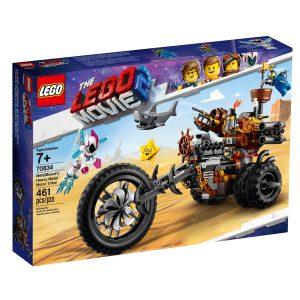 lego 70834 le tricycle motorise en metal de barbe dacier