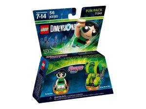 lego 71343 pack heros the powerpuff girls