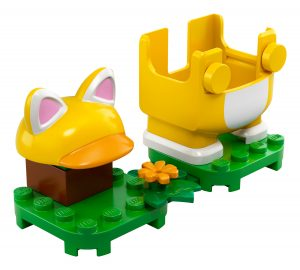lego 71372 costume de mario chat
