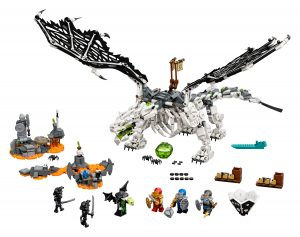 lego 71721 le dragon du sorcier au crane
