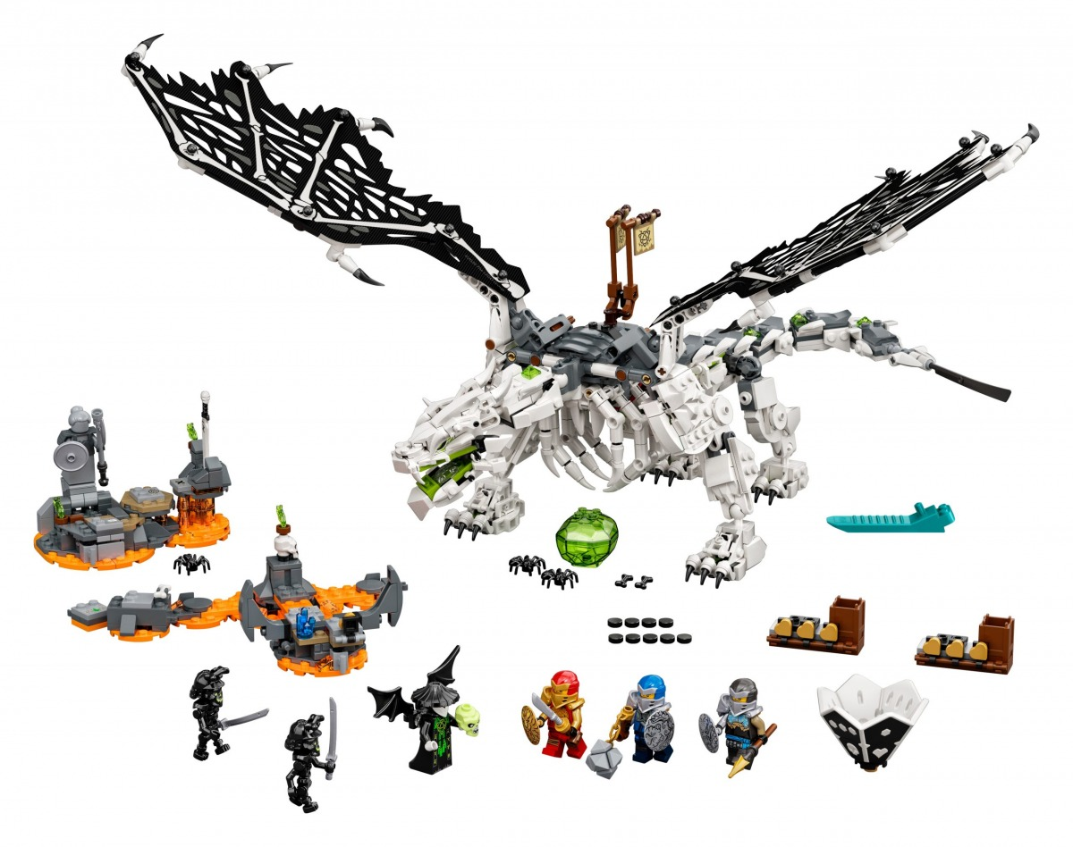lego 71721 le dragon du sorcier au crane scaled