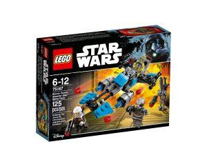lego 75167 pack de combat la moto speeder du bounty hunter